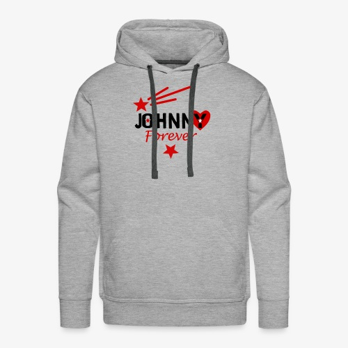 Johnny forever - Sweat-shirt à capuche Premium pour hommes