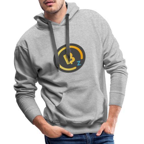 Dark BitcoinZ Logo - Men's Premium Hoodie