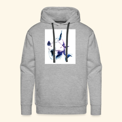How much is the Shark? - Männer Premium Hoodie