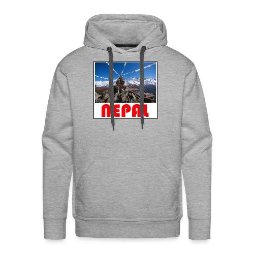 Nepal T-shirt - Men's Premium Hoodie