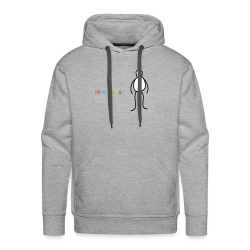 im a human - Mannen Premium hoodie