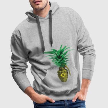 Pineapple Grenade - Premiumluvtröja herr