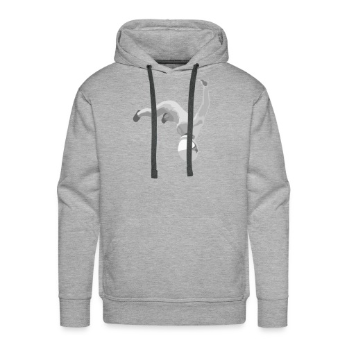 Ass to the People, Titties to the Sky Babe - Men's Premium Hoodie
