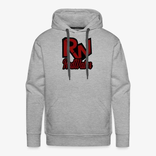 RedWater Logo mit Schriftzug - Männer Premium Hoodie