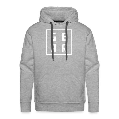 GearWear Sweatshirt | Man Black - Mannen Premium hoodie