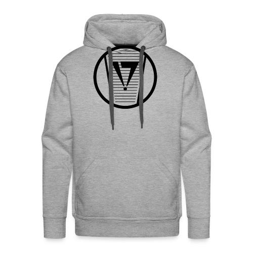 Graffiti Skinny Cap Logo spray can tip - Sweat-shirt à capuche Premium pour hommes