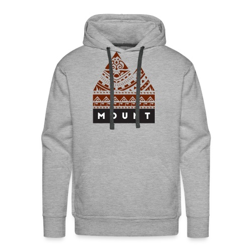 Mountains of the Heart by Te-Moana - Männer Premium Hoodie