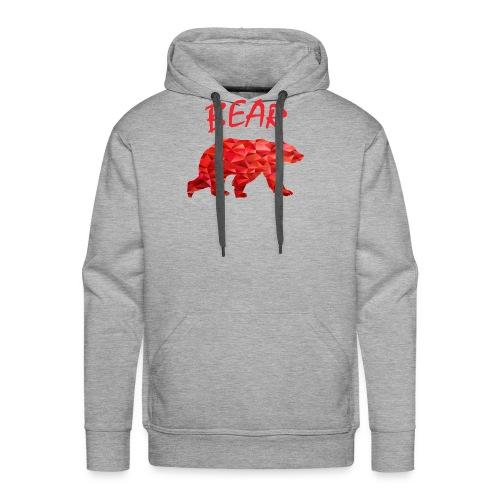 Red Bear - Männer Premium Hoodie