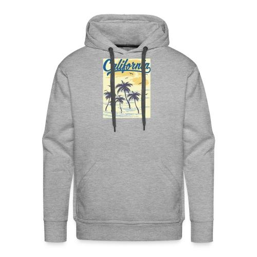California Transparent - Sweat-shirt à capuche Premium pour hommes
