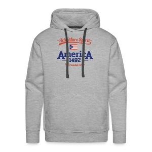 Adventure Spirit America 1492 - Männer Premium Hoodie