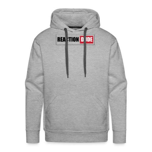 ReactionDude Gear - Sweat-shirt à capuche Premium pour hommes