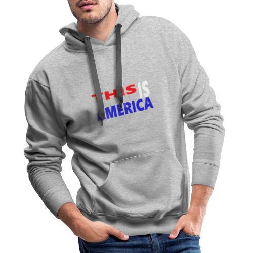 99999 - Sweat-shirt à capuche Premium pour hommes