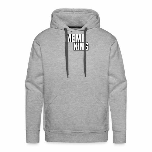 MEME KING schwarz/ weiß - Männer Premium Hoodie