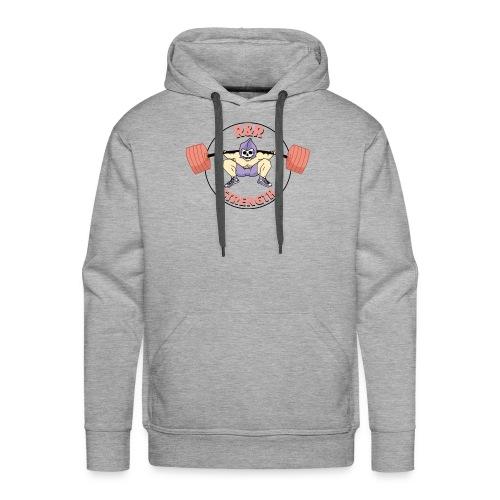 rr strength - Sweat-shirt à capuche Premium pour hommes