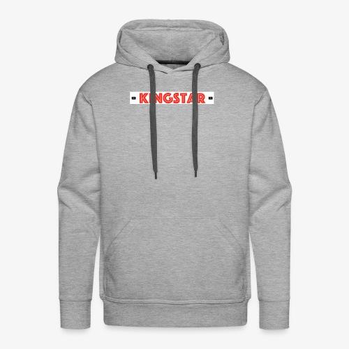 KingStar (RED) - Männer Premium Hoodie