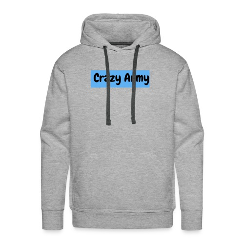 Crazy Army - Premium hettegenser for menn