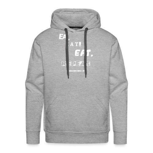 eateateatrepeat - Männer Premium Hoodie
