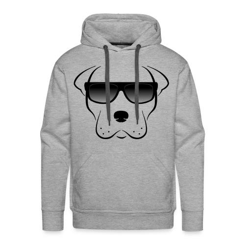 pit bull - Sudadera con capucha premium para hombre