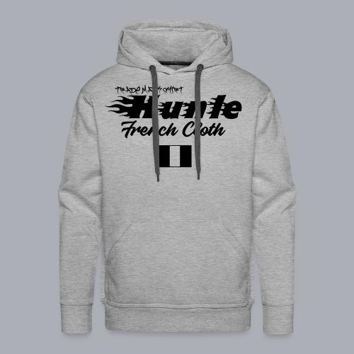 hunle Flame - Sweat-shirt à capuche Premium pour hommes