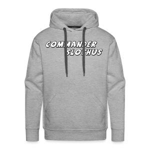 CommanderSlothus Logo - Men's Premium Hoodie