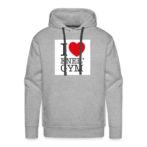I love Ener'gym - Sweat-shirt à capuche Premium pour hommes