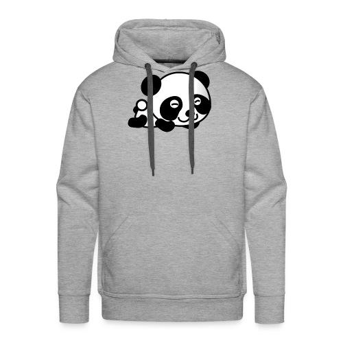 Panda t-shirt - Felpa con cappuccio premium da uomo