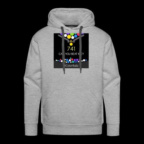 color ballz - Sweat-shirt à capuche Premium pour hommes