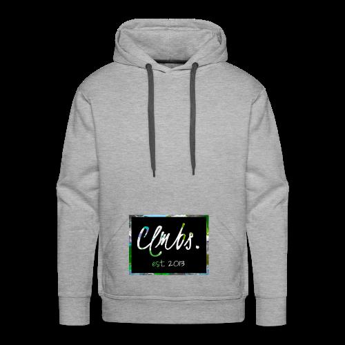 Clmbs-Logo - Männer Premium Hoodie