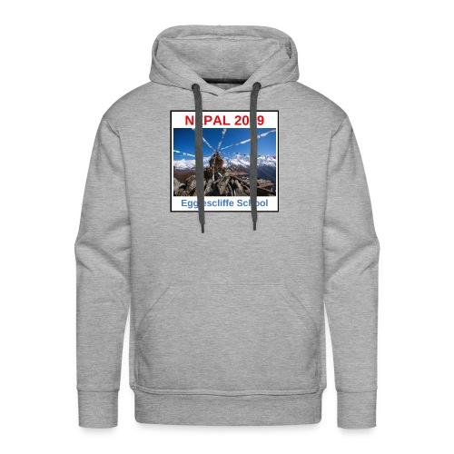 Nepal Egglescliffe School T-shirt Version 1 - Men's Premium Hoodie
