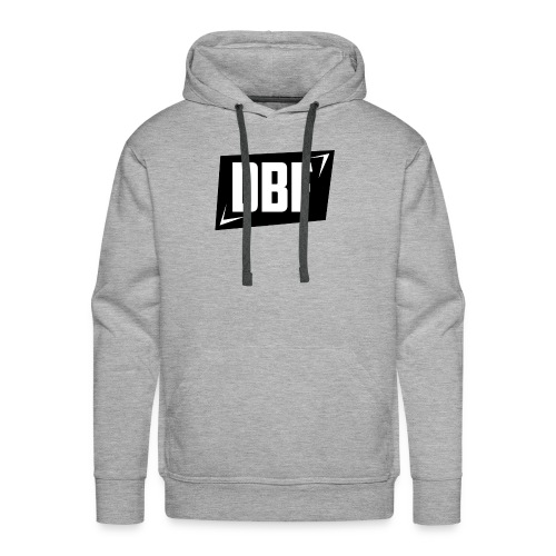 DBF Logo Text - Men's Premium Hoodie