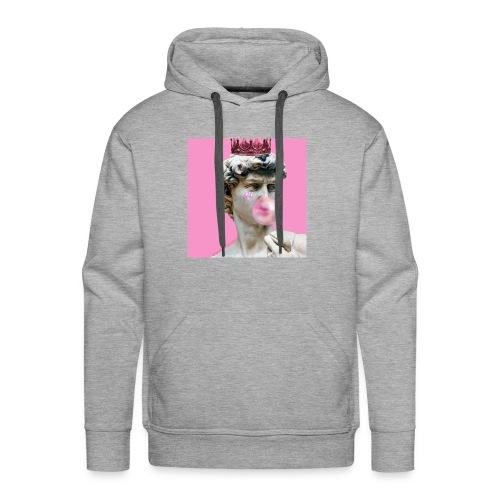 pink god - Bluza męska Premium z kapturem