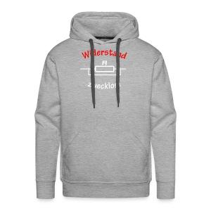 Widerstand zwecklos - Männer Premium Hoodie