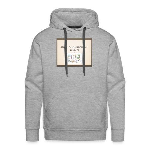 P1 - Sweat-shirt à capuche Premium pour hommes