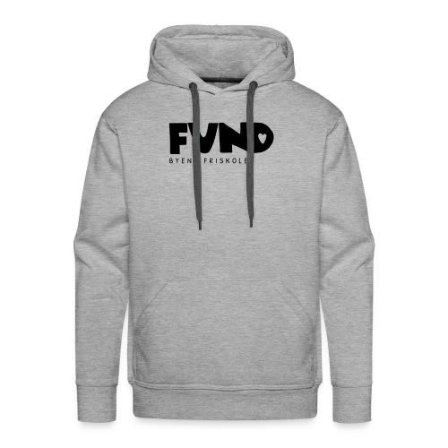 FUND Friskole - Herre Premium hættetrøje
