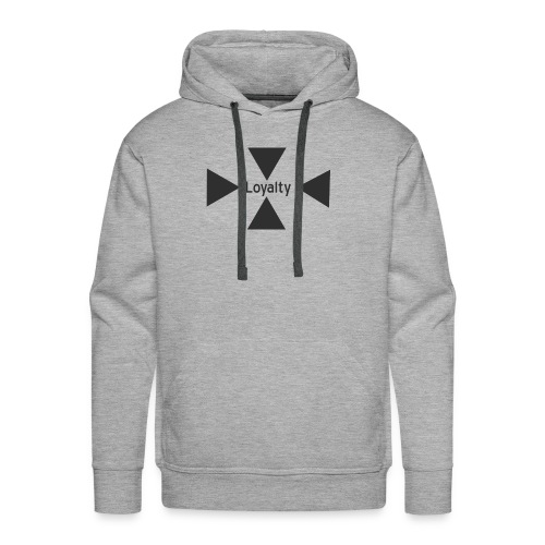 Loyalty logo big - Men's Premium Hoodie