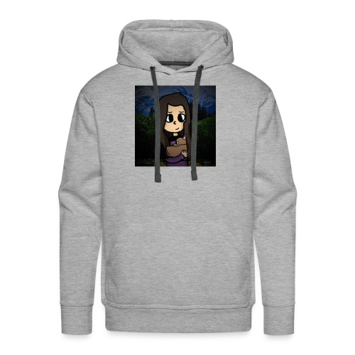 ninjax met achtergrond - Mannen Premium hoodie