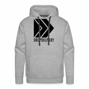 DropDelivery Main Collection - Black - Männer Premium Hoodie