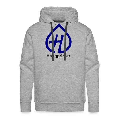 Hangprinter logo and text - Premiumluvtröja herr
