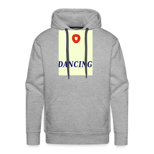 I Love Dancing Motiv 1 - Männer Premium Hoodie
