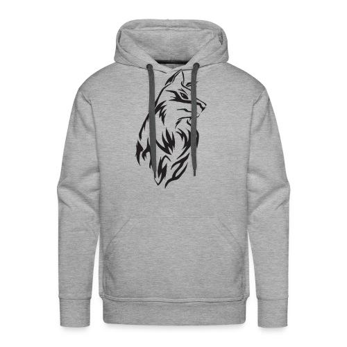 Wolf - Premium Shirt Design - Männer Premium Hoodie