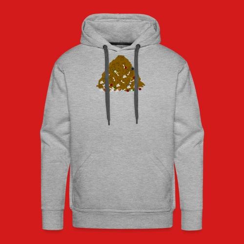 Junky's Junk Pile Logo Design Basic - Men's Premium Hoodie