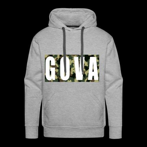 Gova Camouflage - Männer Premium Hoodie
