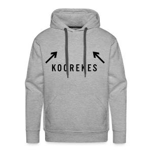 Koorekes - Mannen Premium hoodie