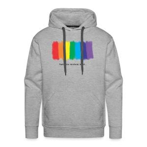 Taste the rainbow - Männer Premium Hoodie