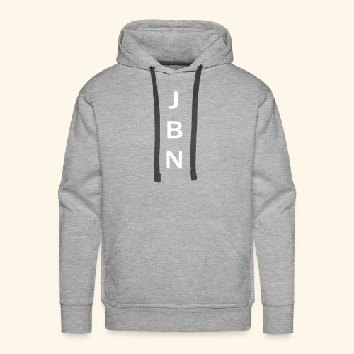 NELSON Hoodie With JBN Initials - Herre Premium hættetrøje