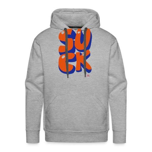 suck - Sweat-shirt à capuche Premium pour hommes