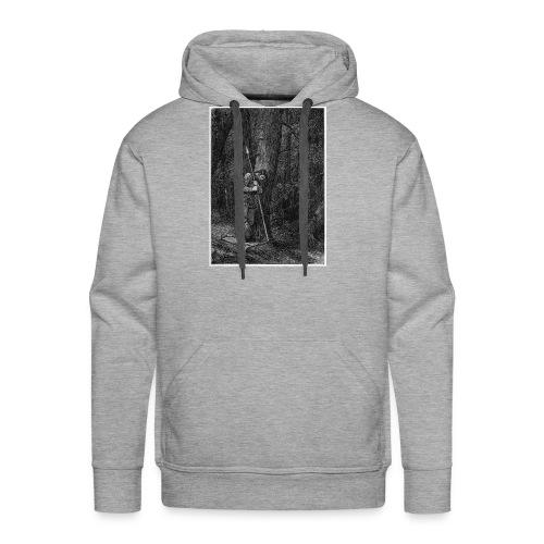 Lonely Warrior - Männer Premium Hoodie