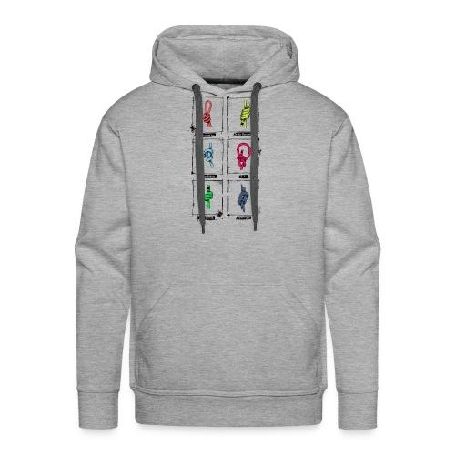 knots - Sudadera con capucha premium para hombre