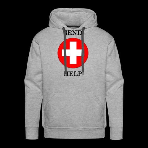 SendHelp - Männer Premium Hoodie