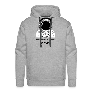 Space man black - Men's Premium Hoodie